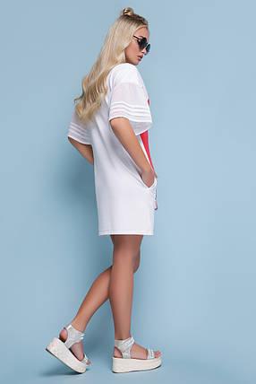 Женское  платье в поп арт style  Свит к/р, фото 2
