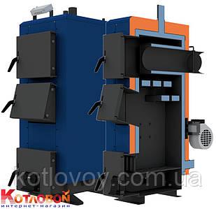 Твердотопливный котел длительного горения НЕУС КТА 15 кВт, автоматическое управление