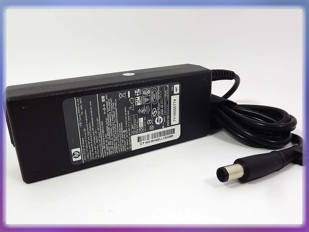 Блок питания HP 19V 4.74A 90W (4.8*1.7) Bullet ORIGINAL.