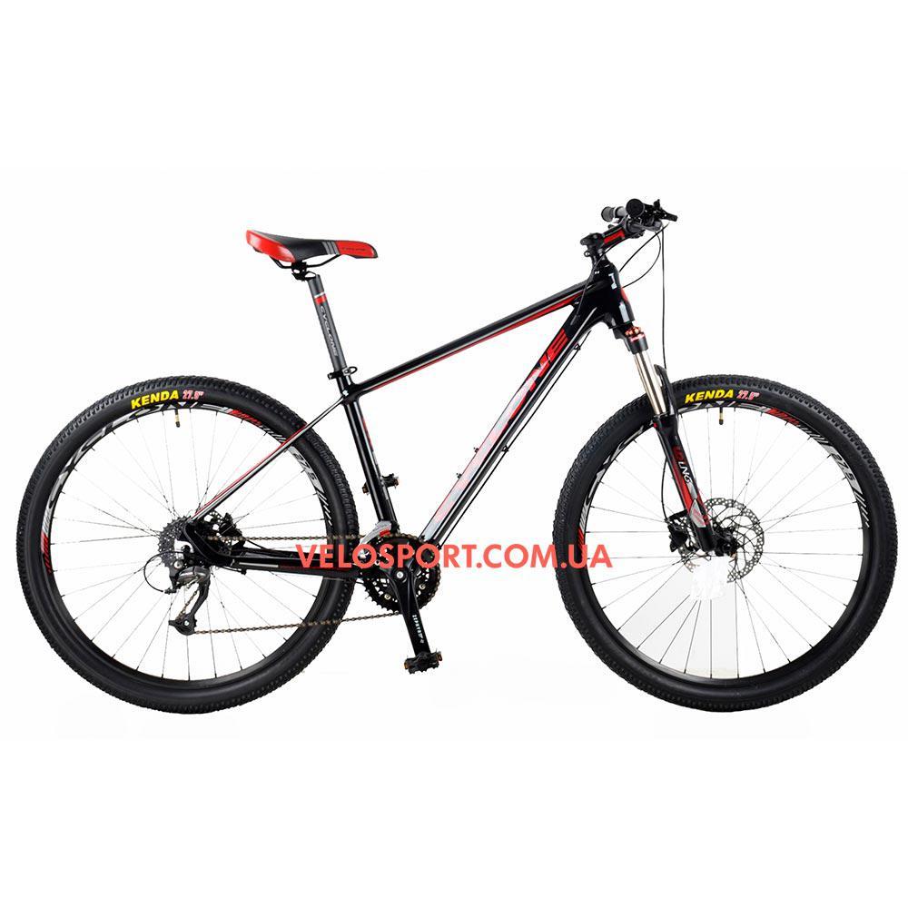 """Горный велосипед Cyclone SX 27,5 дюймов 17"""" черно-красный"""