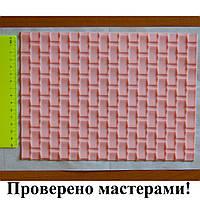 Мат текстурный кирпичная стена, силиконовый