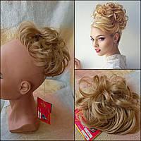 Резинка-шиньон из волос соломенный 0215А-24В