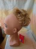 Резинка шиньон из волос соломенный 0215А-24В Global, фото 2