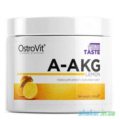 L-аргинин альфа-кетоглютарат OstroVit A-AKG  (200 г) аакг остовит orange