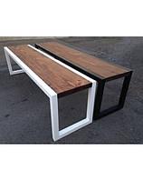 Лавка деревянная дизайнерская