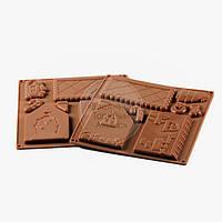 Форма силиконовая для конфет - Домики