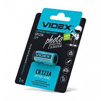 Батарейка литиевая CR123A 1pc blister card 1 шт/уп