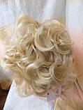 Шиньон-накладка на гребешках удлиненная блонд 902А-613, фото 2
