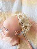 Шиньон-накладка на гребешках удлиненная блонд 902А-613, фото 3