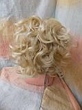 Шиньон-накладка на гребешках удлиненная блонд 902А-613, фото 4