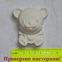 Гипсовая фигурка медвежонок