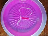 Тортовница с крышкой d- 310мм, пластик, цвета в ассортименте., фото 6