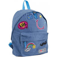 Рюкзак подростковый ST-15 Jeans LOL, 30*36*12 (553921)