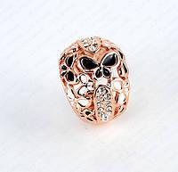 Кольцо женское широкое