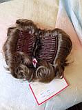 Шиньон-накладка короткий на гребешках русый 988-10, фото 7