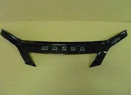 Дефлектор капота, мухобойка Mazda 2 с 2002–2005 г.в VIP