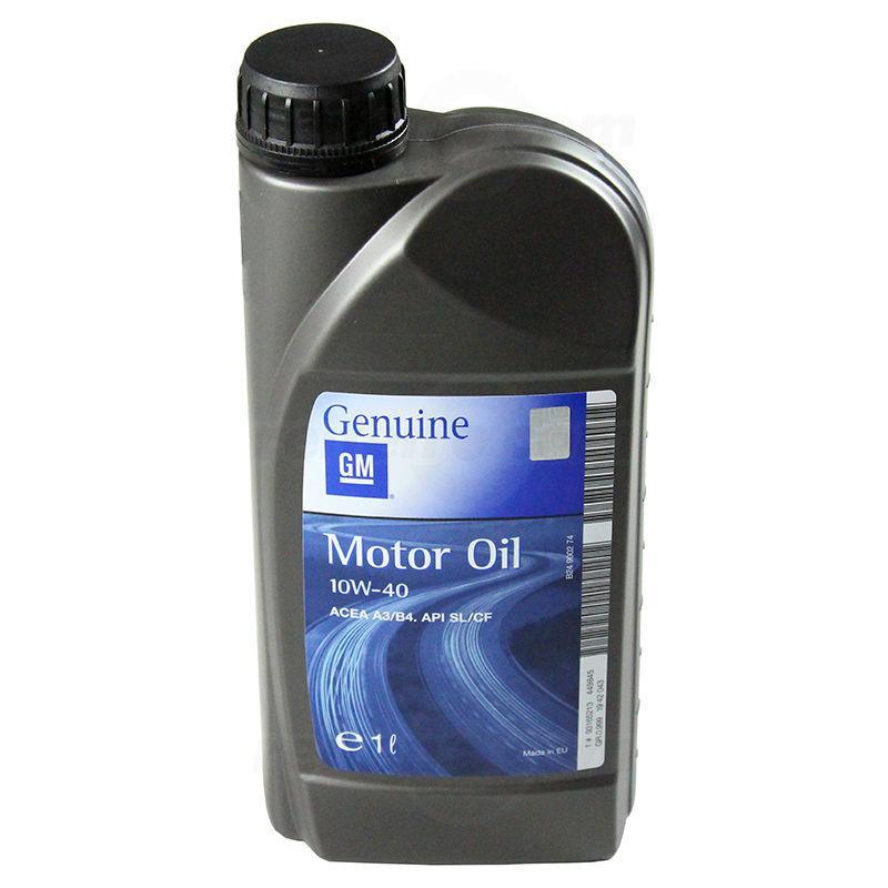 GM Motor Oil Semi Synthetic 10W-40 1л