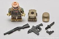 Лего минифигурка MODERN WAR