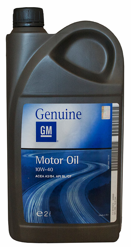 GM Motor Oil Semi Synthetic 10W-40 2л
