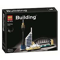 """Конструктор Bela 10676 (Аналог Lego Architecture 21032) """"Сидней"""", 361 деталь"""