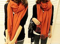 Женский шерстяной шарф