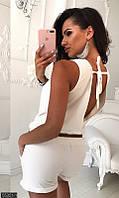 Женский комбинезон с открытой спиной