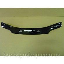 Дефлектор капота, мухобойка Mazda 323 F с 1994–1998 г.в. х/б VIP