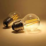 Ретро гирлянды Уличная  5 м комплект  10 ламп Эдисона ST  45 патрон Е 27, фото 6