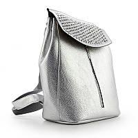 Рюкзак женский серебристый со стразами Valensiy 83005-p04