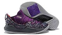 Мужские Кроссовки Under Armour Curry 5 Purple/Camouflage/Dark gray 3020657-108, фото 1