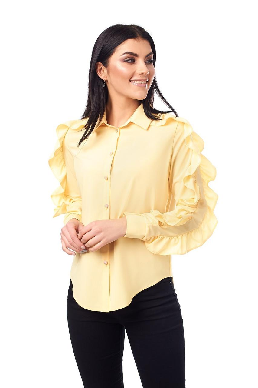 Блузка женская с рюшами (234)