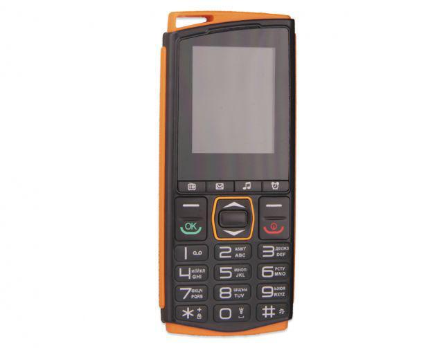Кнопочный мобильный телефон Sigma Comfort 50 mini4 оранжевый