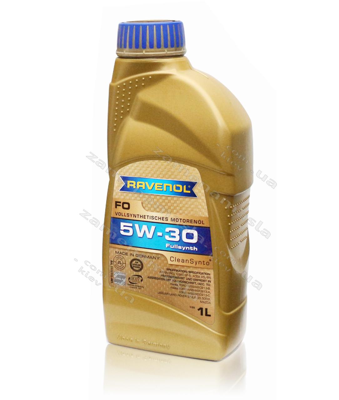 Ravenol FO 5W-30 1л - моторное масло
