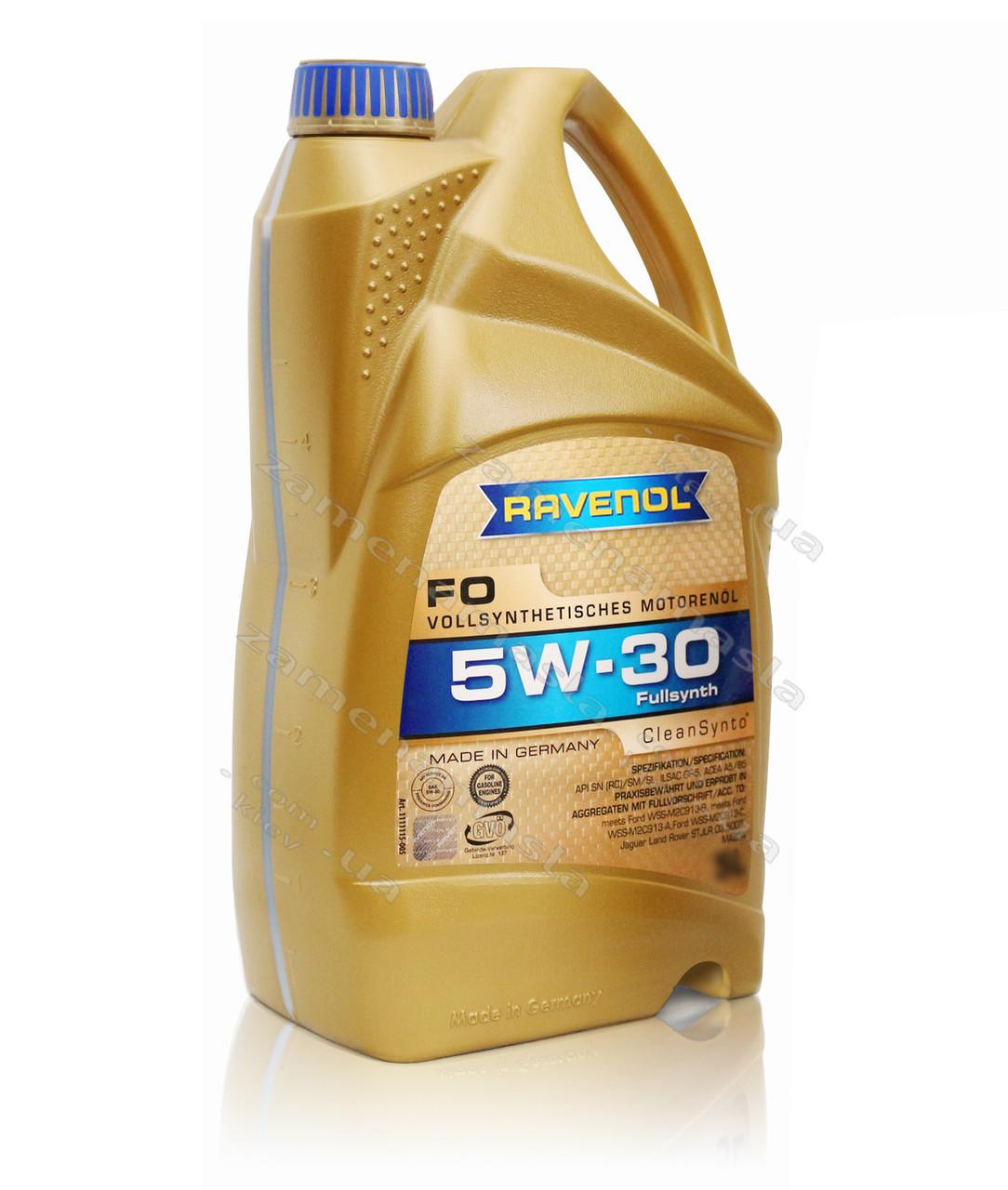 Ravenol FO 5W-30 4л - моторное масло