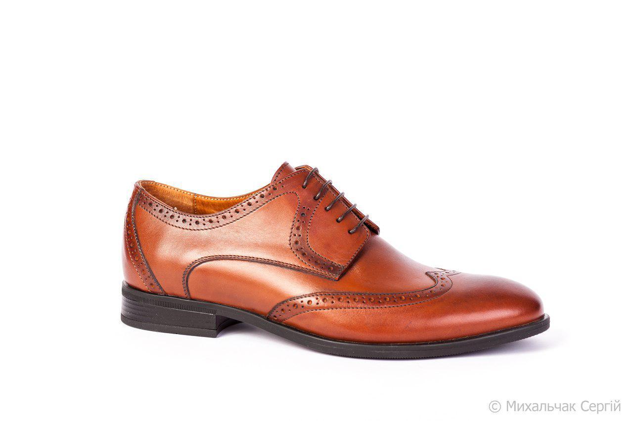 Туфлі броги ІКОС IKOS тренд нового сезону! - Магазин чоловічого взуття