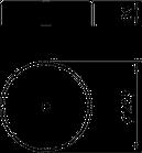 5403117 Бетонну основу FangFix без рамки, 10 кг, F-Fix-S10 OBO Bettermann (Німеччина), фото 2