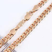Ланцюжок xuping 4мм 50см панцирні плетіння ц656