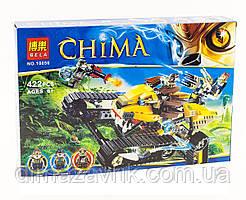 """Конструктор Bela 10056 (Аналог Lego Chima) """"Королевский истребитель Лавала"""" 422 детали"""