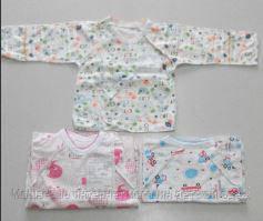 Распашонка  для новорожденных,1201,0-3 месяц рукав нецарапка, Хлопок-тонкий , есть 56,62 Рост, фото 2