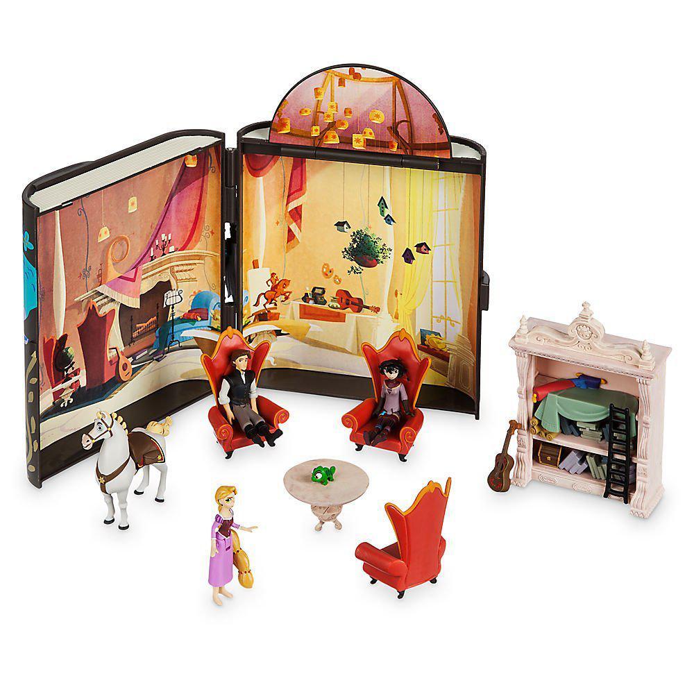 Рапунцель Дисней фигурки музыкальный набор Disney Rapunzel's Journal Play Set