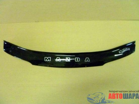 Дефлектор капота, мухобойка Mazda 626 92->97 VIP