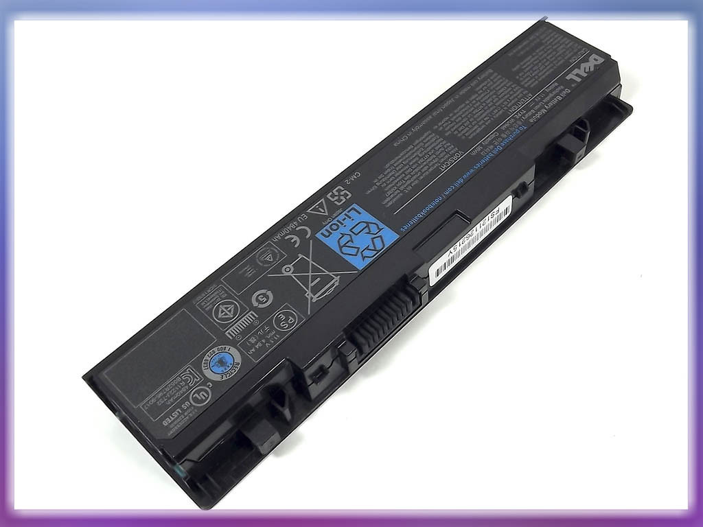 Батарея Dell (WU946) Studio 1536 (11.1V 4400mAh). Black