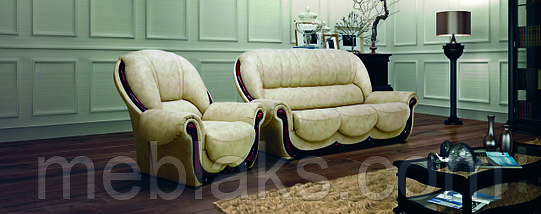 Мягкий комплект Престиж (диван + 2 кресла)   Udin, фото 3