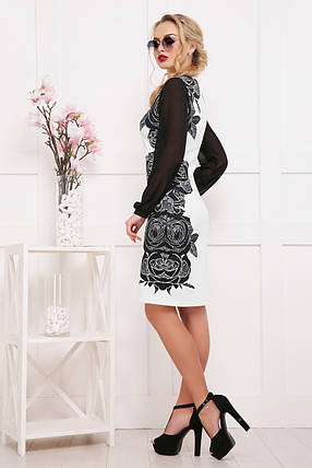 Розы-кружево платье Лерина д/р размер S, фото 2