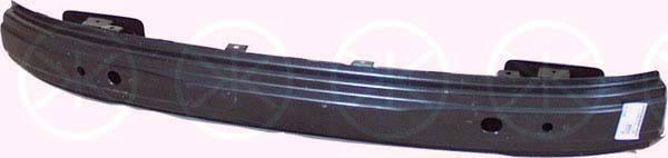 Шина переднего бампера Daewoo Lanos 98- (усилитель металлический) (FPS), фото 2
