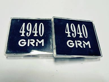 Подушка для печати диаметр 40 окрашена GRM