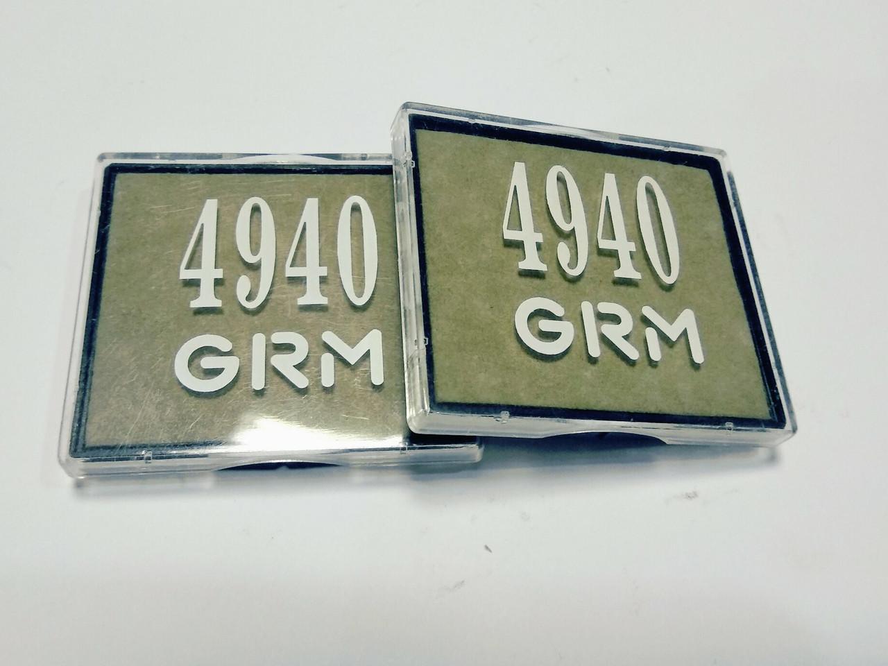 Подушка для печати диаметр 40 неокрашена GRM