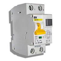 Автоматический выключатель дифференциального тока АВДТ32, 2р 16А