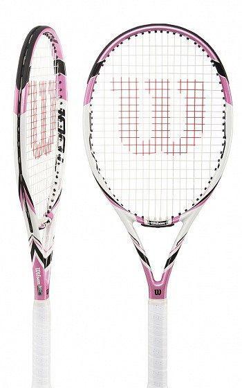 Ракетка для большого тенниса Wilson w envy 100l tns rkt pink ss16 (MD)
