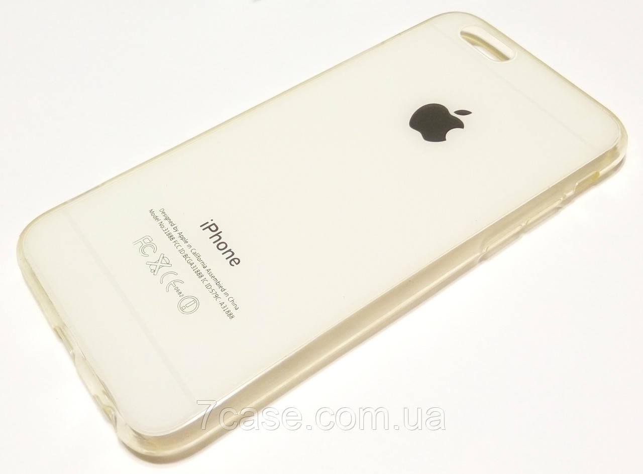 Чехол силиконовый для iPhone 6 / 6s белый
